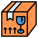 Fragile Box Package Icon