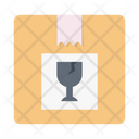 Fragile Package Delivery Icon