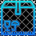 Fragile Package Fragile Box Icon