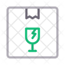 Fragile Parcel Icon