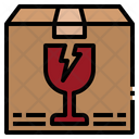 Fragile Warning Package Icon