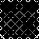 Fragile Parcel Delicate Parcel Feeble Parcel Icon