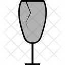 Fragile Sign Cargo Packaging Icon