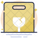 Fragile Stamp Icon
