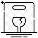 Fragile Symbol Icon