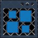 Fragmentation Icon