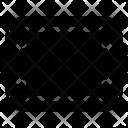Rectangular Shape Frame Icon