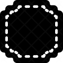 Square Dashed Frame Icon