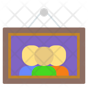 Frame Family Photo Photoframe Icon