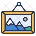 Gallery Painting Frame Icon