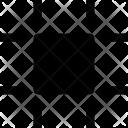 Frame Boundaries Square Icon