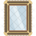 Frame Glass Looking Glass Icon