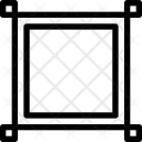 Design Square Frame Icon
