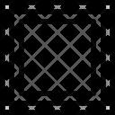 Designer Square Frame Icon