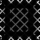 Design Rectangular Frame Icon