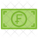 Franc Money Currency Icon