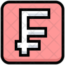 Business Financial Franc Icon