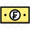Franc Money Payment Icon