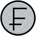 Franc Coin Currency Icon