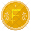 Franc Currency Icon