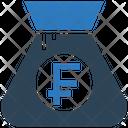 Franc Bag Icon