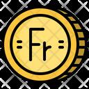 Franc Coin Icon