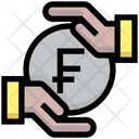 Franc Investment Safe Investment Franc Finance Icon