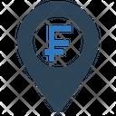 Franc Location Icon