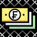 Franc Money Icon