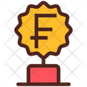 Award Trophy Money Icon