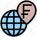 Franc Worldwide Worldwide Franc Icon