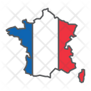 France Country Geograpgy Icon