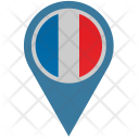 France Location Pointer Icon