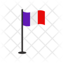France Flag Sign Nation Icon