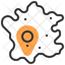 Map France Location Icon