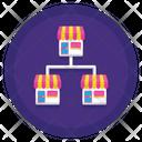 Franchise Shop Favourite Shop Icon