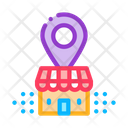 Franchise Building Location Icon