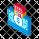 Shop Building Dollar Icon