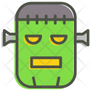 Frankenstein Scary Zombie Icon