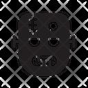 Halloween Frankenstein Scary Icon