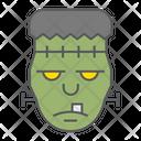 Frankenstein Halloween Scary Icon