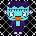 Frankenstein Halloween Costume Icon