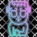 Frankenstein Spooky Frightening Icon