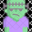 Frankenstein Horror Spooky Icon