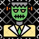 Frankenstein Zombie Halloween Icon