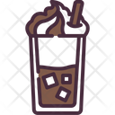 Frappe Milkshake Beverage Icon