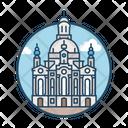 Frauenkirche Dresden Famous Building Landmark Icon
