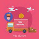 Free Delivery Cargo Icon