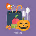 Free Gift Pumpkin Icon