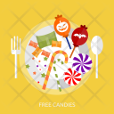 Free Candies Sweet Icon